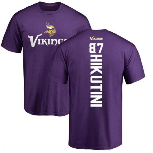 Cole Hikutini Minnesota Vikings Youth Purple Backer T-Shirt -
